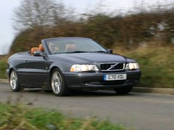 2005 Volvo C70 Convertible review. Image by Shane O' Donoghue.