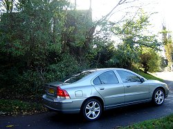 2005 Volvo S60 D5. Image by James Jenkins.