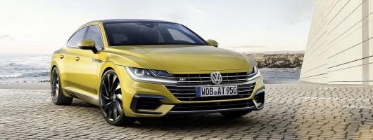 Volkswagen whips covers off Arteon. Image by Volkswagen.