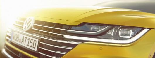 Volkswagen Arteon teaser shots. Image by Volkswagen.