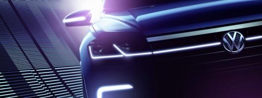 Chinese debut for next-gen Volkswagen 4x4. Image by Volkswagen.