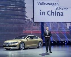 Volkswagen's Shanghai surprise. Image by Volkswagen.