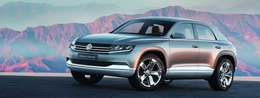 VW concept previews sporty new SUV. Image by Volkswagen.