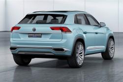2015 Volkswagen Cross Coupe GTE concept. Image by Volkswagen.