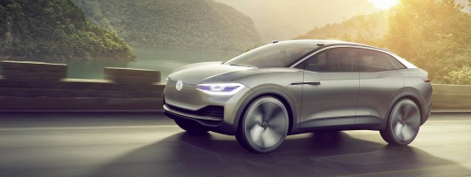 Volkswagen I.D. Crozz is electric SUV for 2020. Image by Volkswagen.