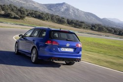 2015 Volkswagen Golf R Estate. Image by Volkswagen.