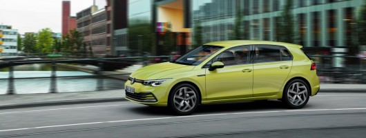 First drive: Volkswagen Golf Mk8. Image by Volkswagen AG.