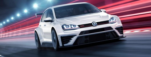 Golf GTI TCR racers delivered by Volkswagen. Image by Volkswagen.