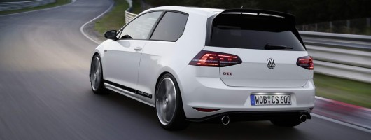 UK's Golf GTI Clubsport S allocation gone. Image by Volkswagen.