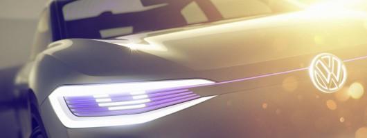Volkswagen shows electric crossover. Image by Volkswagen.