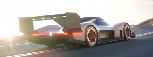 VW races for the clouds with I.D. R hillclimb special. Image by Volkswagen.