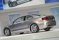2010 VW New Compact Coupe concept. Image by United Pictures.