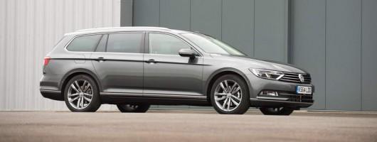 First drive: Volkswagen Passat Estate. Image by Volkswagen.