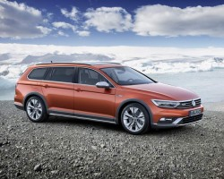 Incoming: Volkswagen Passat Alltrack. Image by Volkswagen.