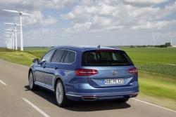 2015 Volkswagen Passat GTE Estate. Image by Volkswagen.