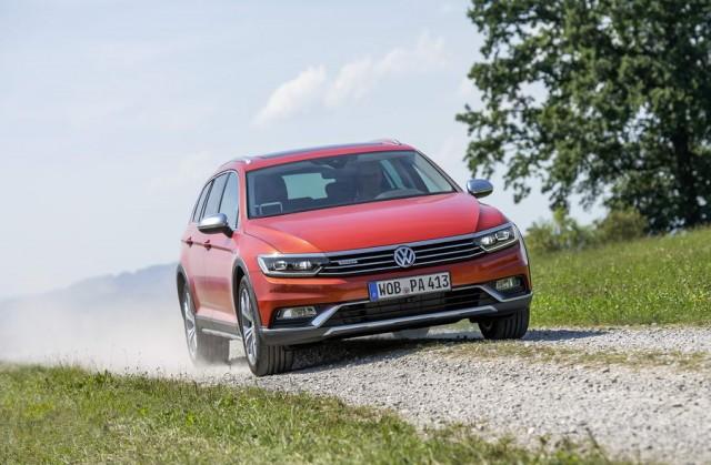 First drive: Volkswagen Passat Alltrack. Image by Volkswagen.