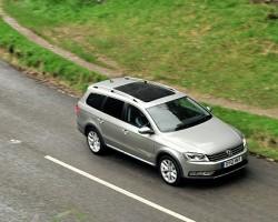 2013 Volkswagen Passat Alltrack. Image by Volkswagen.