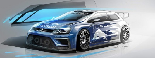 Volkswagen Polo R WRC boosted for 2017 season. Image by Volkswagen.
