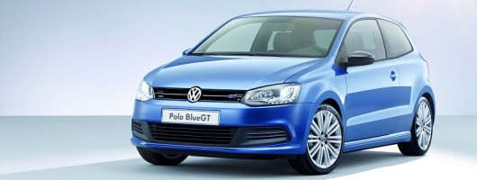 Geneva 2012: Green-hot VW Polo Blue GT. Image by Volkswagen.