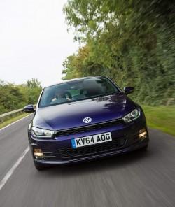 2015 Volkswagen Scirocco. Image by Volkswagen.