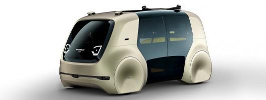 Self-driving Sedric is Volkswagen's future. Image by Volkswagen.
