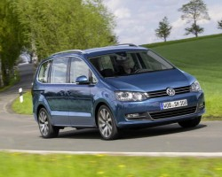 Sharan MPV updated. Image by Volkswagen.