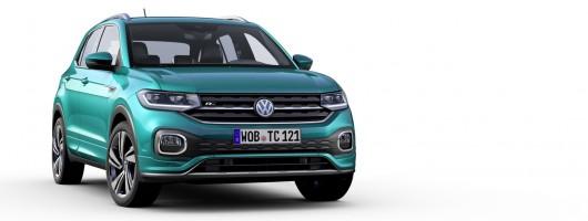Volkswagen shows off new T-Cross. Image by Volkswagen.