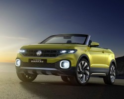 2016 Volkswagen T-Cross Breeze concept. Image by Volkswagen.