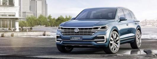 New Touareg concept stars in Beijing. Image by Volkswagen.