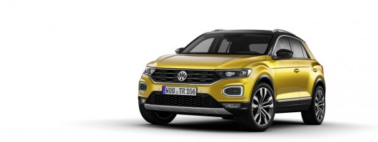 Volkswagen rocks compact crossover sector with T-Roc. Image by Volkswagen.