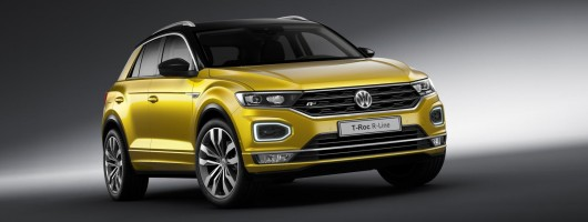 Volkswagen adds R-Line trim to T-Roc and Tiguan Allspace. Image by Volkswagen.