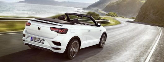Volkswagen shows off new T-Roc Cabriolet. Image by Volkswagen AG.