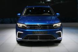 2016 Volkswagen Tiguan GTE. Image by Newspress.