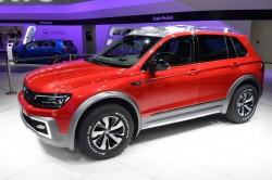 2016 Volkswagen Tiguan GTE Active concept. Image by Newspress.