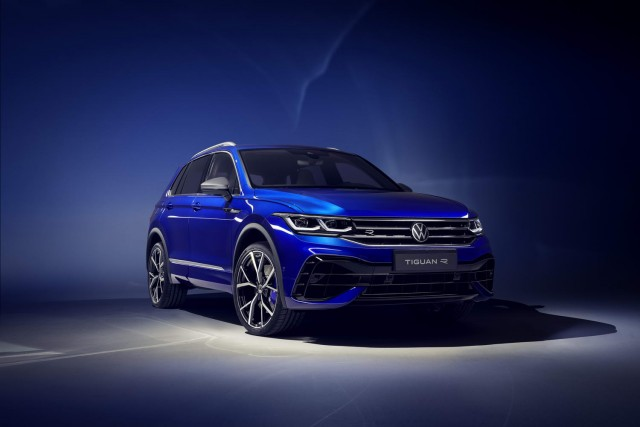 Hot R plus PHEV for facelifted VW Tiguan. Image by Volkswagen AG.