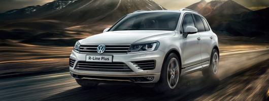 Touareg gets more luxury. Image by Volkswagen.