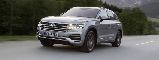 First drive: Volkswagen Touareg 3.0 TDI V6. Image by Volkswagen.