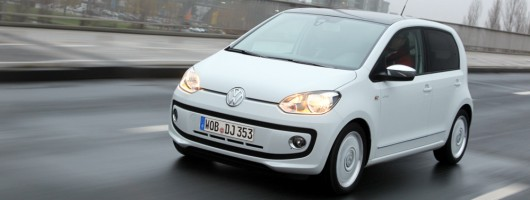 First drive: Volkswagen up! five-door. Image by Volkswagen.