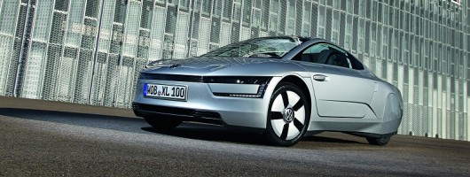 Volkswagen XL1 details released. Image by Volkswagen.
