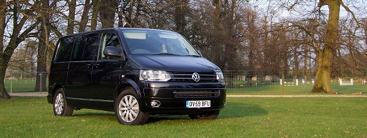 Week at the Wheel: VW Caravelle Executive. Image by Dave Jenkins.