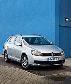 2009 VW Golf Estate. Image by VW.