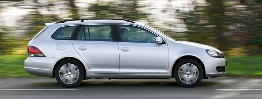 Week at the Wheel: Volkswagen Golf Estate. Image by VW.