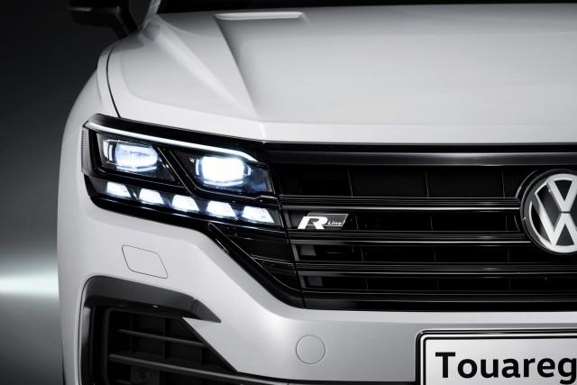 Volkswagen goes tech-heavy on Touareg Mk3. Image by Volkswagen.