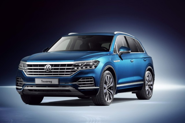New Volkswagen Touareg is a design tour de force. Image by Volkswagen.