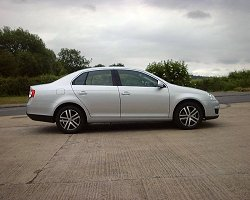 Is the VW Jetta too big for the gap between Golf and Passat? Image by Trevor Nicosia.