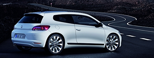 Scirocco blows hot. Image by VW.