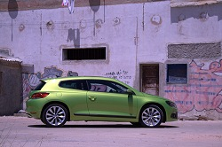 2008 VW Scirocco. Image by Shane O' Donoghue.