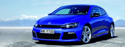 VW announces Golf and Scirocco R prices. Image by VW.
