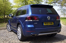 2008 VW Touareg R50. Image by Kyle Fortune.
