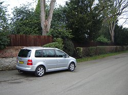 2004 VW Touran. Image by James Jenkins.